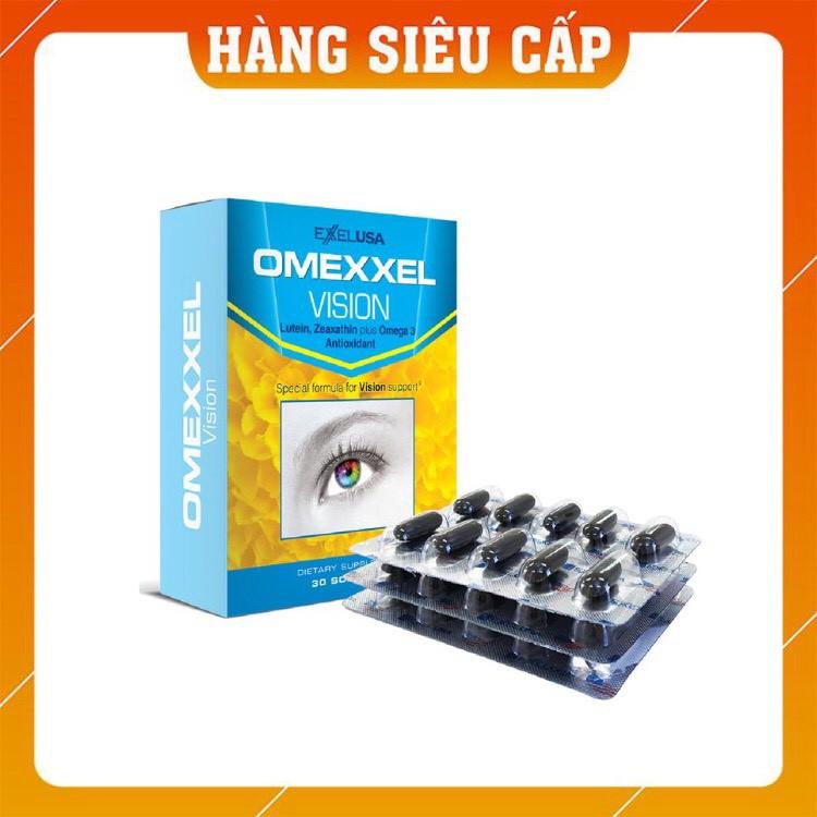Viên uống bổ mắt Omexxel Vision (30 viên/ hộp) - Hàng chính hãng Mỹ