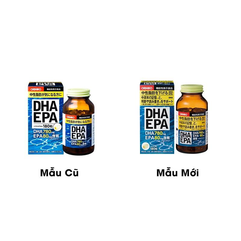 Viên Uống Bổ Não DHA EPA Orihiro