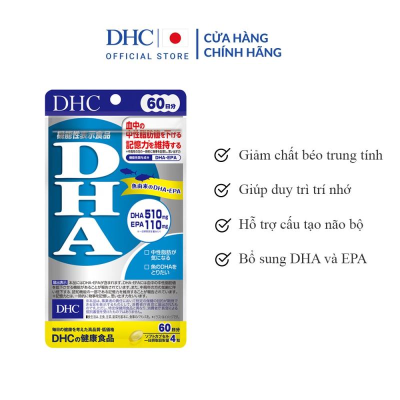 Viên Uống Bổ Não DHC Nhật Bản Bổ Sung DHA
