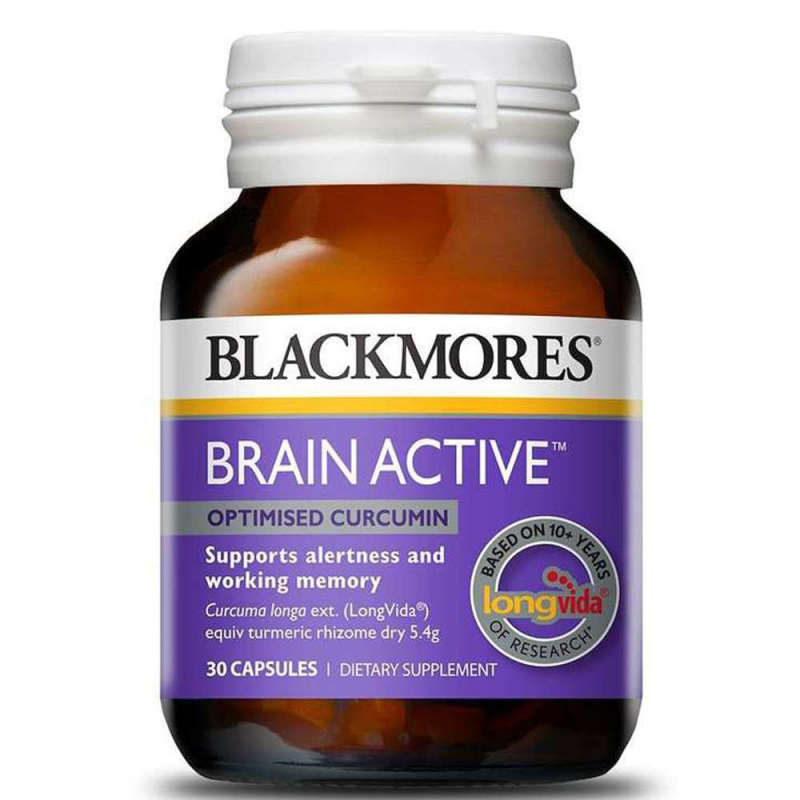Viên Uống Bổ Não Tăng Cường Trí Nhớ Blackmores Brain Active