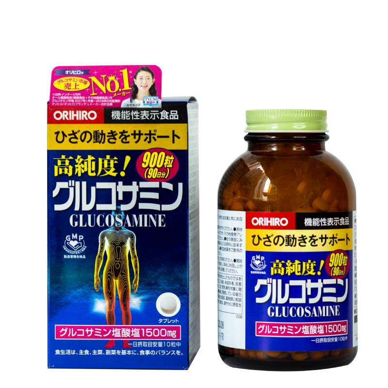 Viên uống bổ sung Glucosamine ORIHIRO Nhật Bản