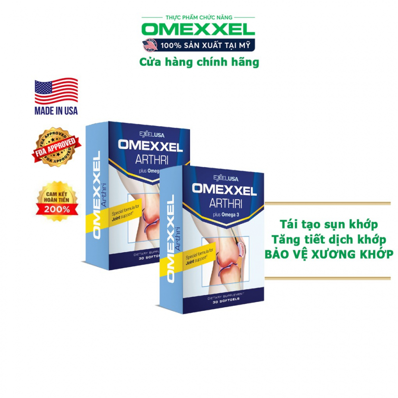 Viên uống bổ xương khớp Omexxel Arthri