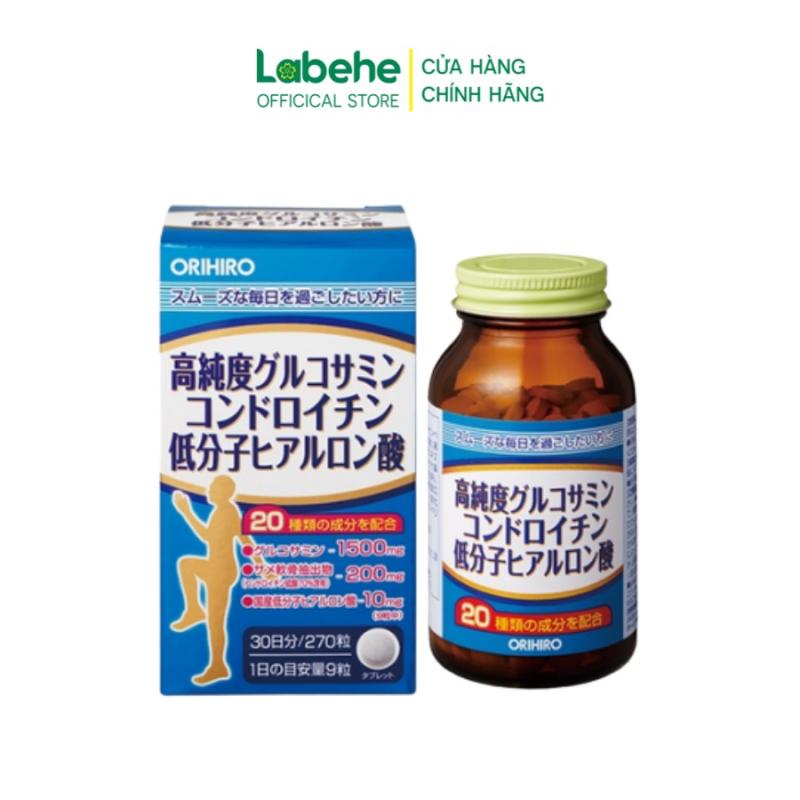 Viên uống bổ xương khớp tổng hợp Glucosamine và Chondroitin Orihiro
