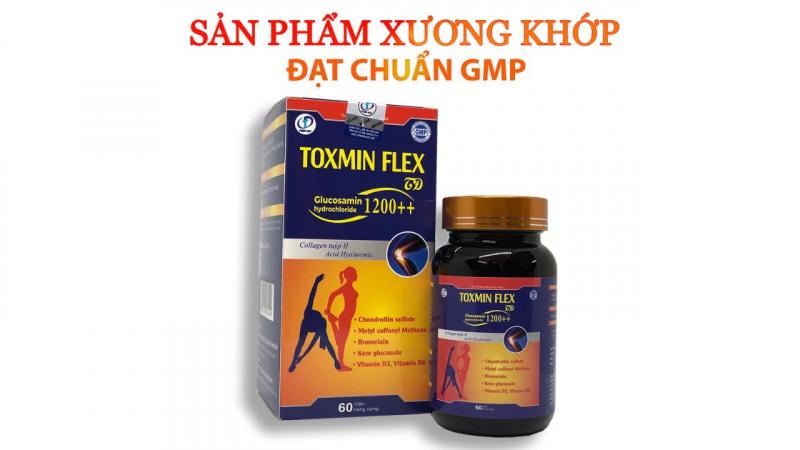 Viên Uống bổ xương khớp Toxmin Flex