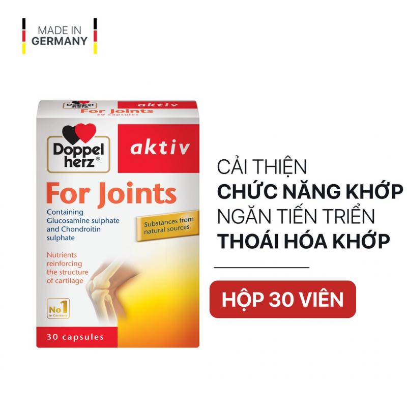 Viên uống cải thiện chức năng khớp và ngăn sự tiến triển thoái hóa Doppelherz Aktiv For Joints