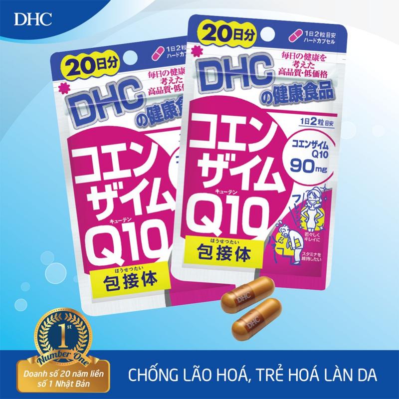 Viên uống Chống lão hóa trẻ da DHC COENZYME Q10