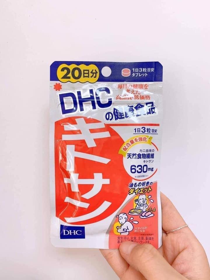 Viên uống giảm mỡ bụng DHC Chitosan