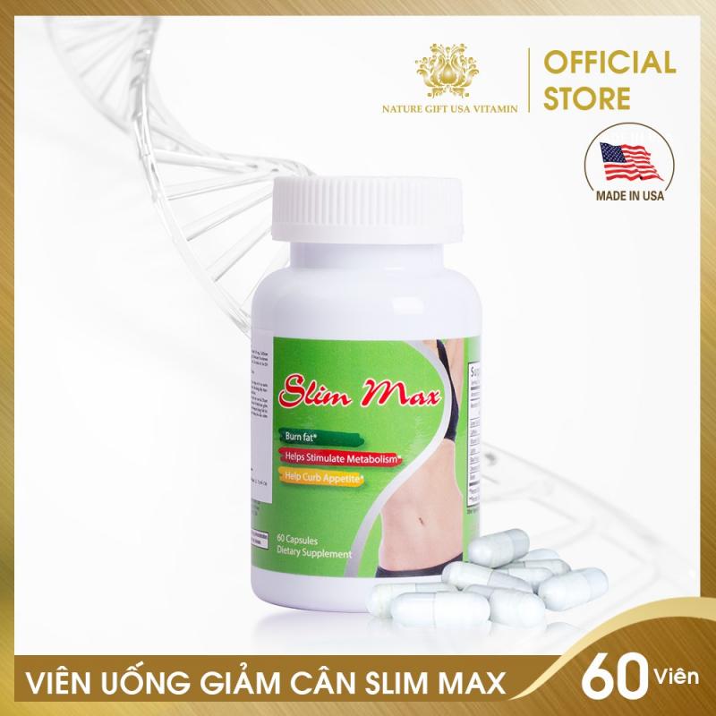 Viên uống giảm mỡ bụng SLIM MAX Nature Gift USA