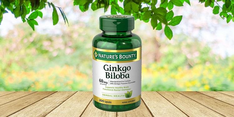 Viên uống Ginkgo Biloba 60mg Nature Bounty