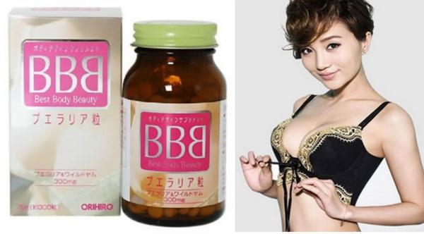 BBB (Best Beauty Body-Orihiro BB) - Bí quyết cho ngực căng tròn quyến rũ