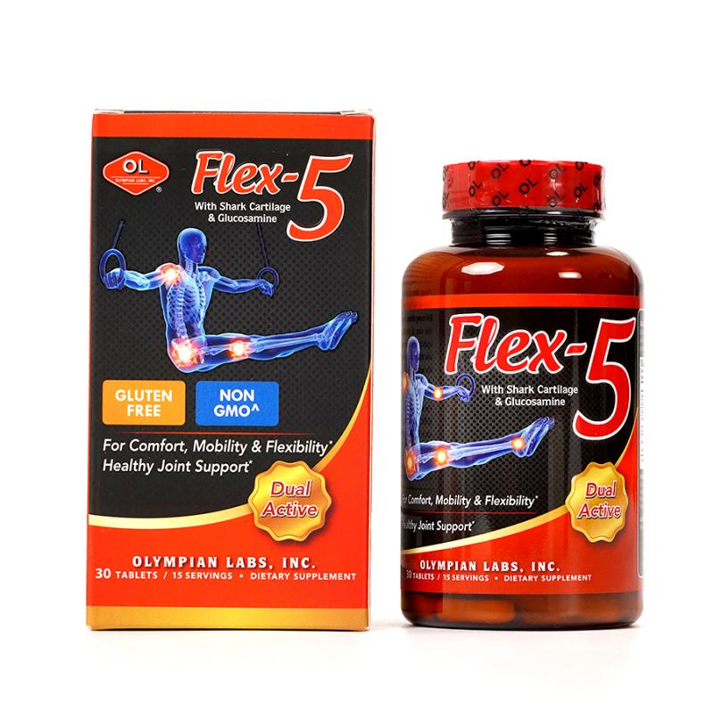 Viên Uống Olympian labs Flex-5 Chăm Sóc Sức Khoẻ Xương Khớp