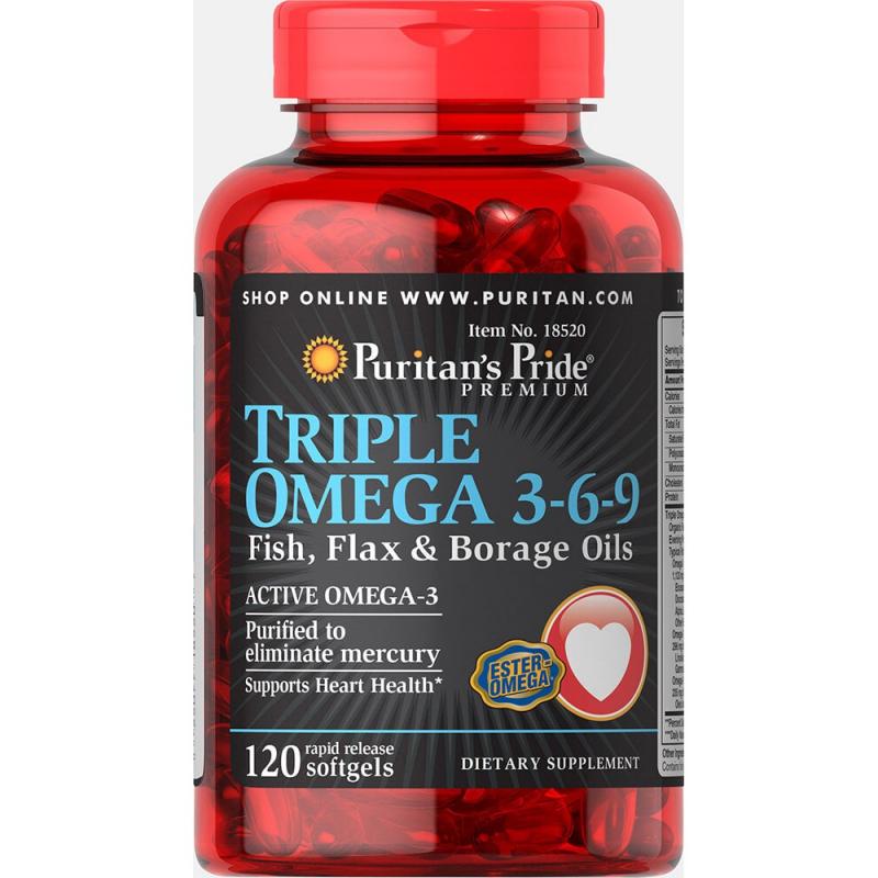 Top 5 Sản phẩm dầu cá Omega 3-6-9 tốt nhất trên thị trường hiện nay