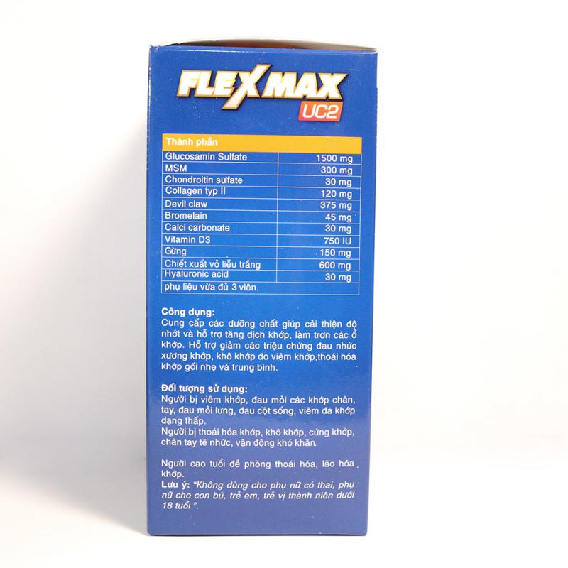 Viên xương khớp Flexmax UC2 EUCARE glucosamine