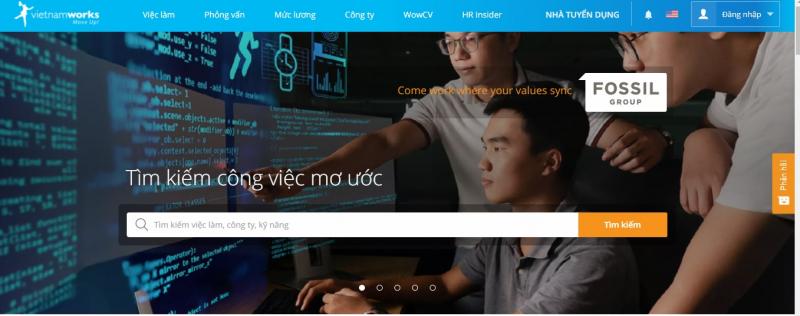 Top 10 Trang web tìm việc online uy tín nhất tại Việt Nam