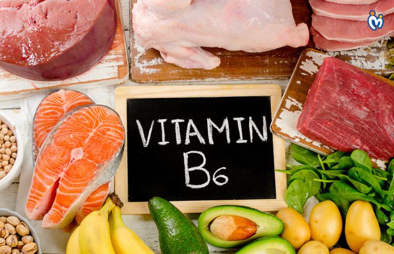 Bổ sung thực phẩm giàu vitamin B6