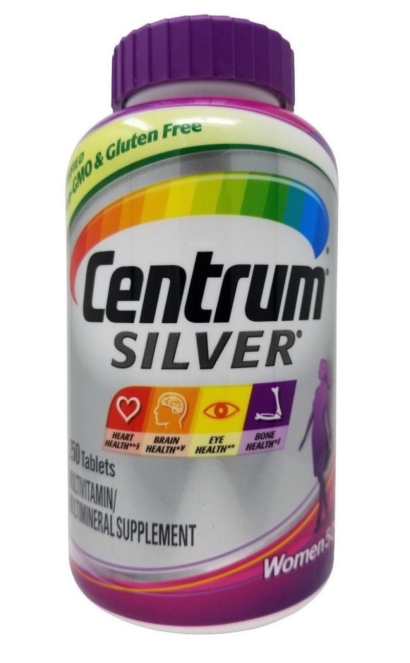 Vitamin Centrum Silver For Adults 50+ dành cho nữ
