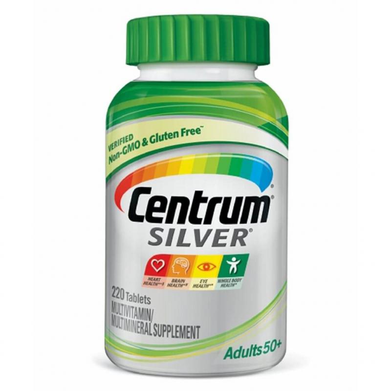 Vitamin Centrum Silver For Adults 50+ dành cho nam