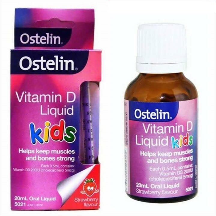 Top 10 Vitamin D tốt nhất cho trẻ sơ sinh hiện nay