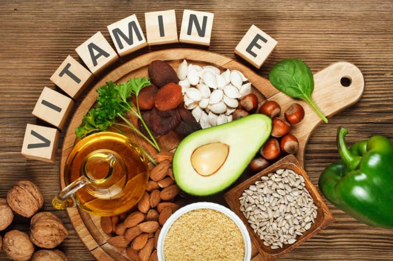 Bổ sung thực phâm giàu vitamin E