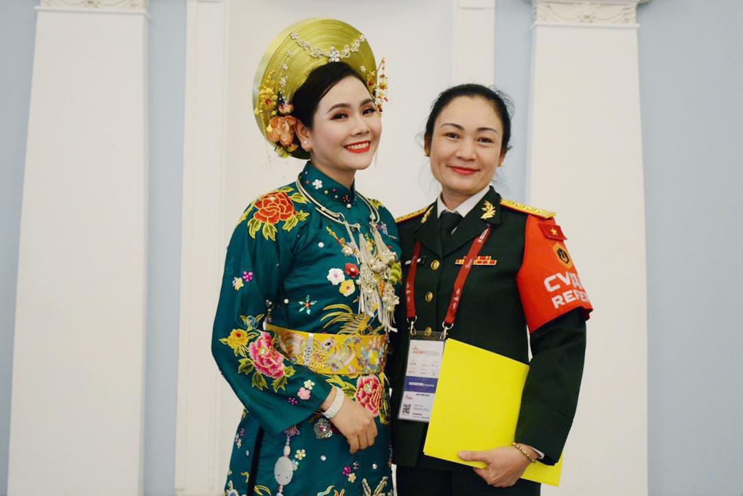 Lương Nguyệt Anh giành giải thưởng tại Army Games 2021 ở Nga