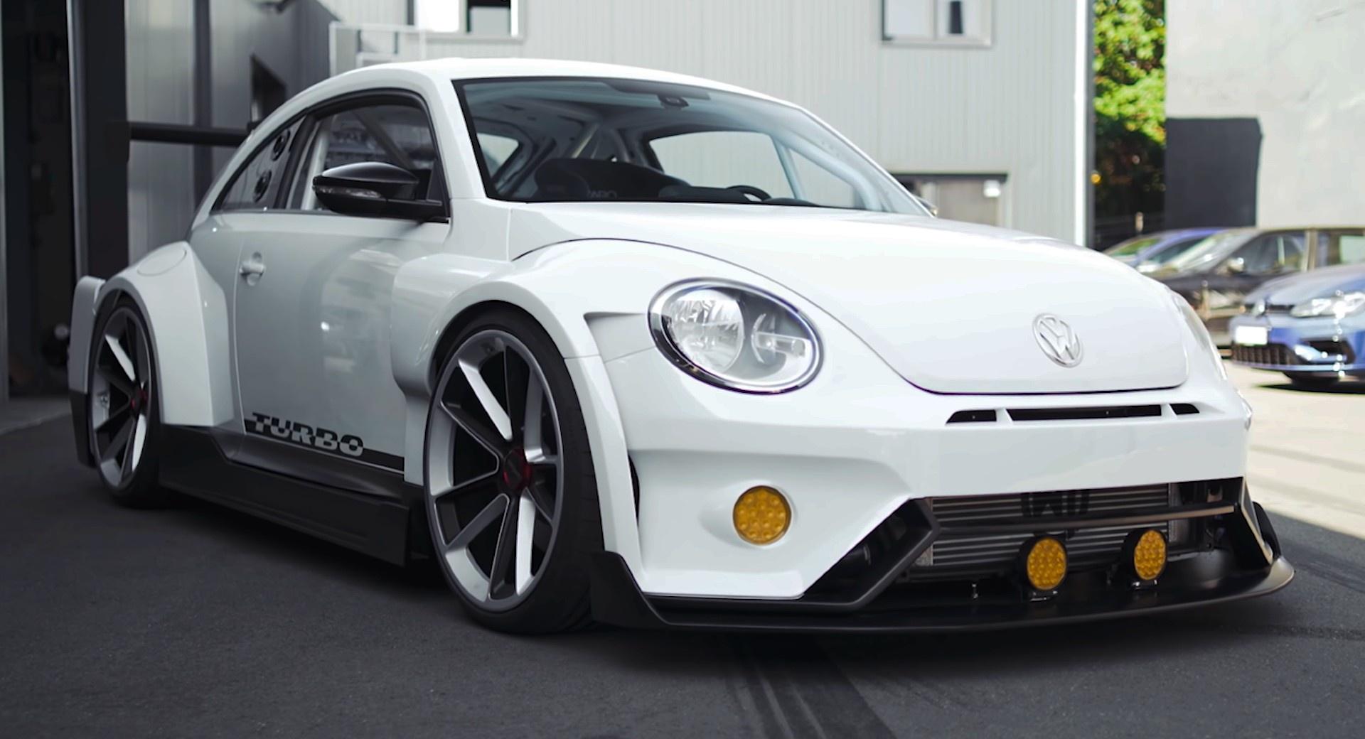 Volkswagen Beetle độ thân rộng được lấy cảm hứng từ game đua xe