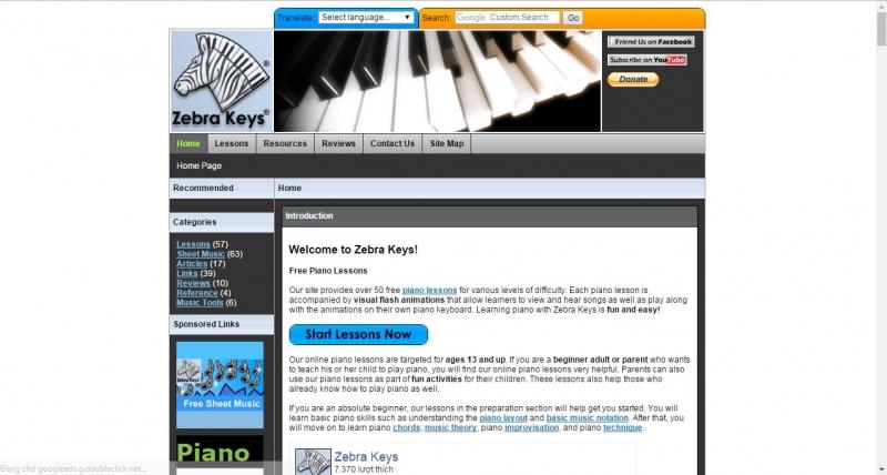 Top 18 Website tự học đàn piano uy tín nhất