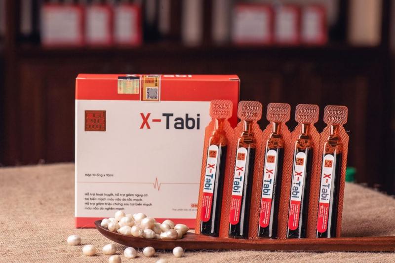 X-Tabi - hỗ trợ điều trị tăng huyết áp