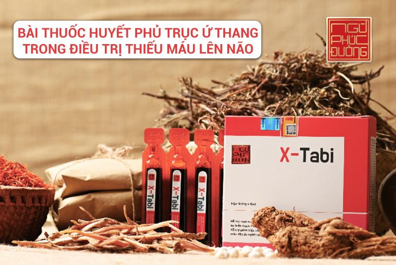 X-Tabi - Hỗ trợ phòng ngừa tai biến mạch máu não
