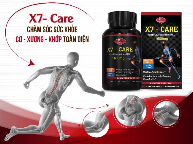 X7-Care chăm sóc sức khỏe xương khớp