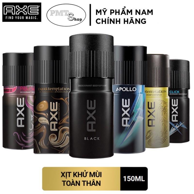 Xịt nước hoa toàn thân AXE dành cho nam