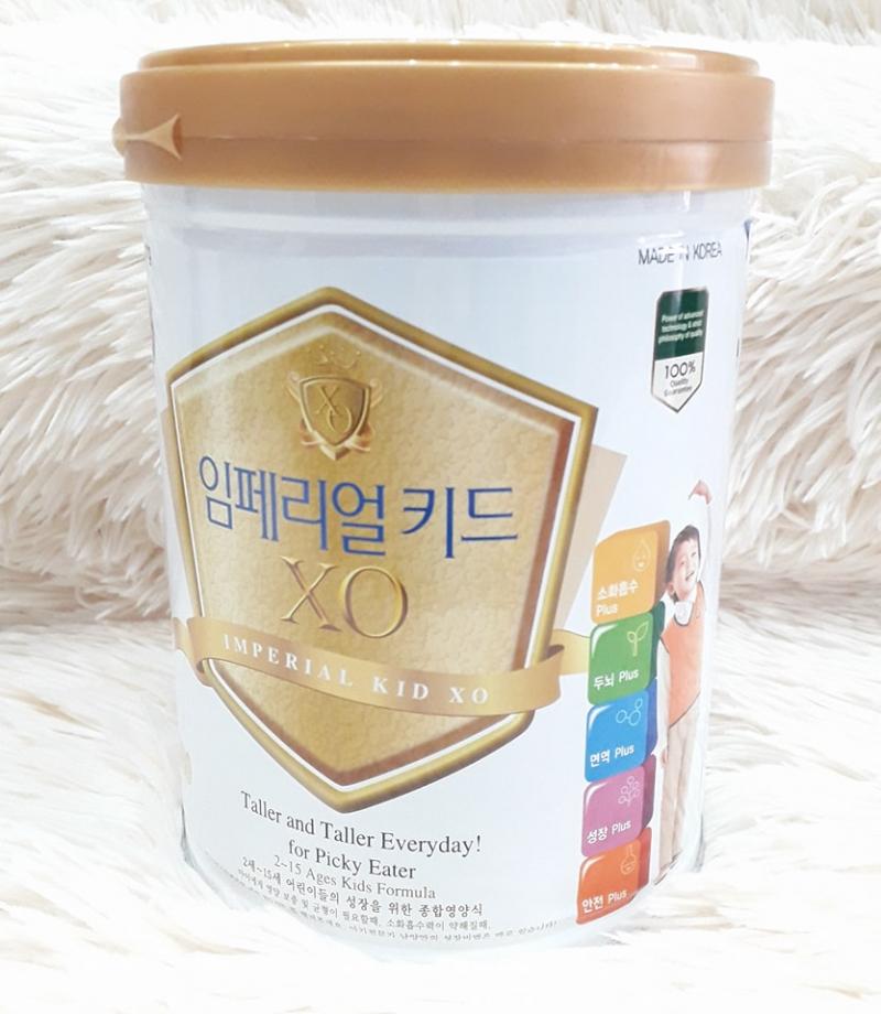 Sữa Imperial Kid XO hương vani 800g (2 - 15 tuổi)