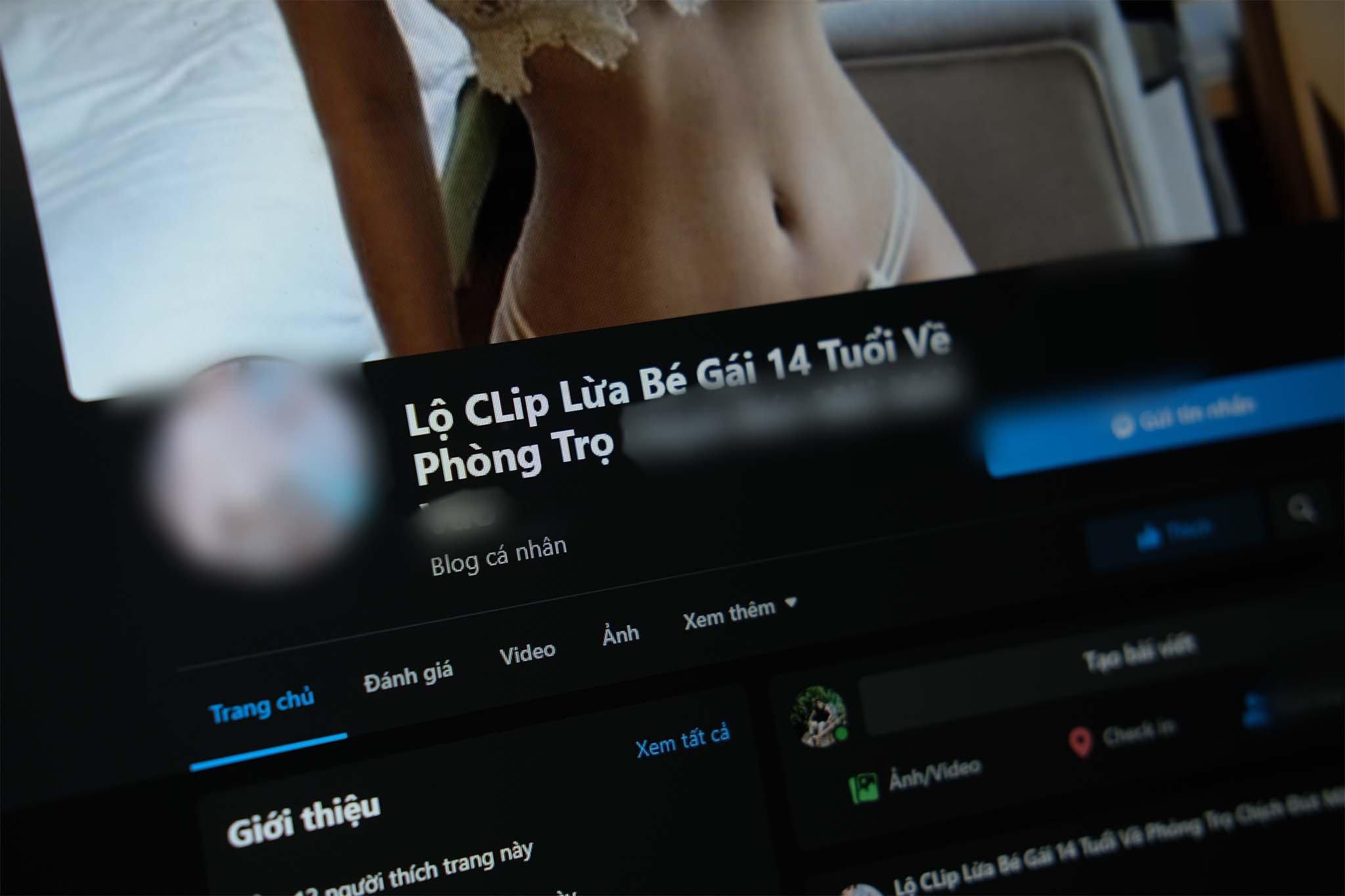 Nhân viên Facebook xác nhận fanpage có nội dung ấu dâm là hợp lệ