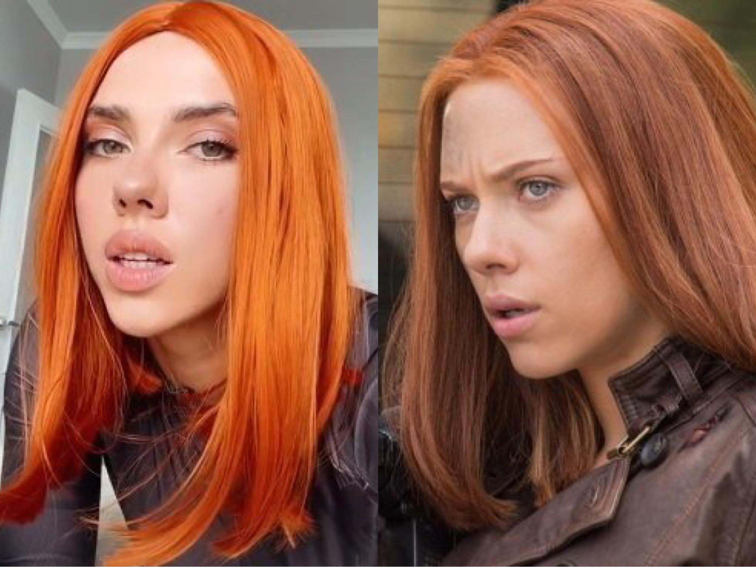 Người mẫu nổi tiếng vì giống Scarlett Johansson