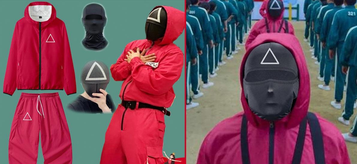 Trang phục 'Squid Game' bán chạy trên các sàn thương mại điện tử