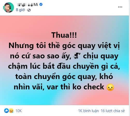 BLV Liên Quân có phát ngôn gây tranh cãi sau thất bại của tuyển Việt Nam
