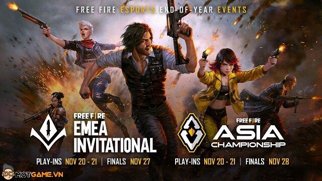 Garena Free Fire: Bùng cháy với hai giải đấu trực tuyến khởi tranh cuối tháng 11/2021