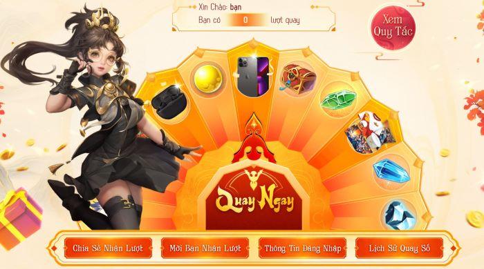 Võ Lâm Truyền Kỳ Mobile tặng iPhone 13 Pro Max trong sự kiện mừng sinh nhật 5 tuổi