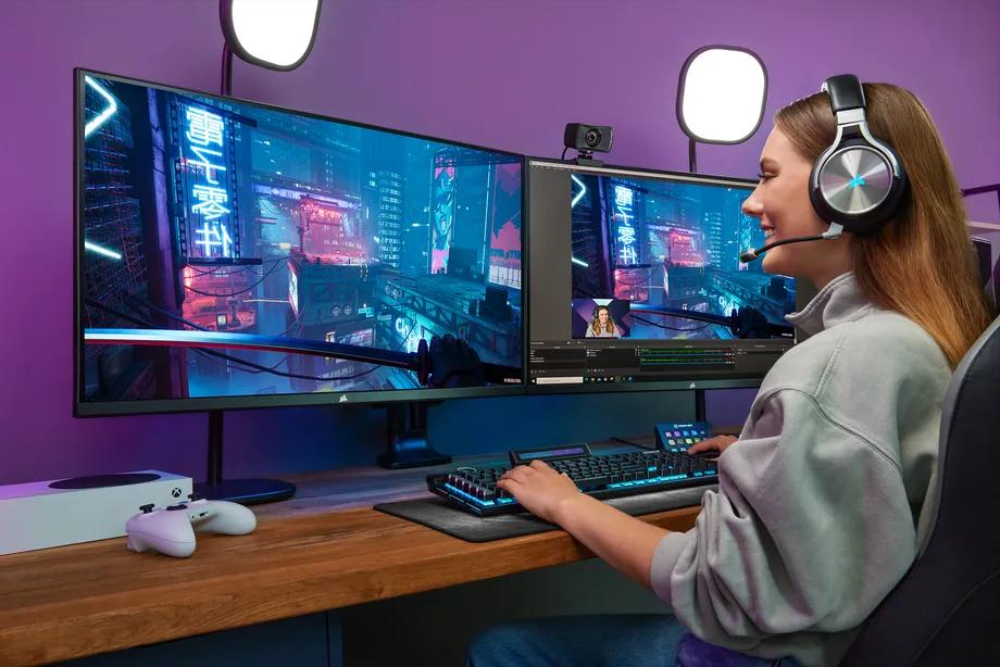 Corsair ra mắt màn hình chơi game đầu tiên