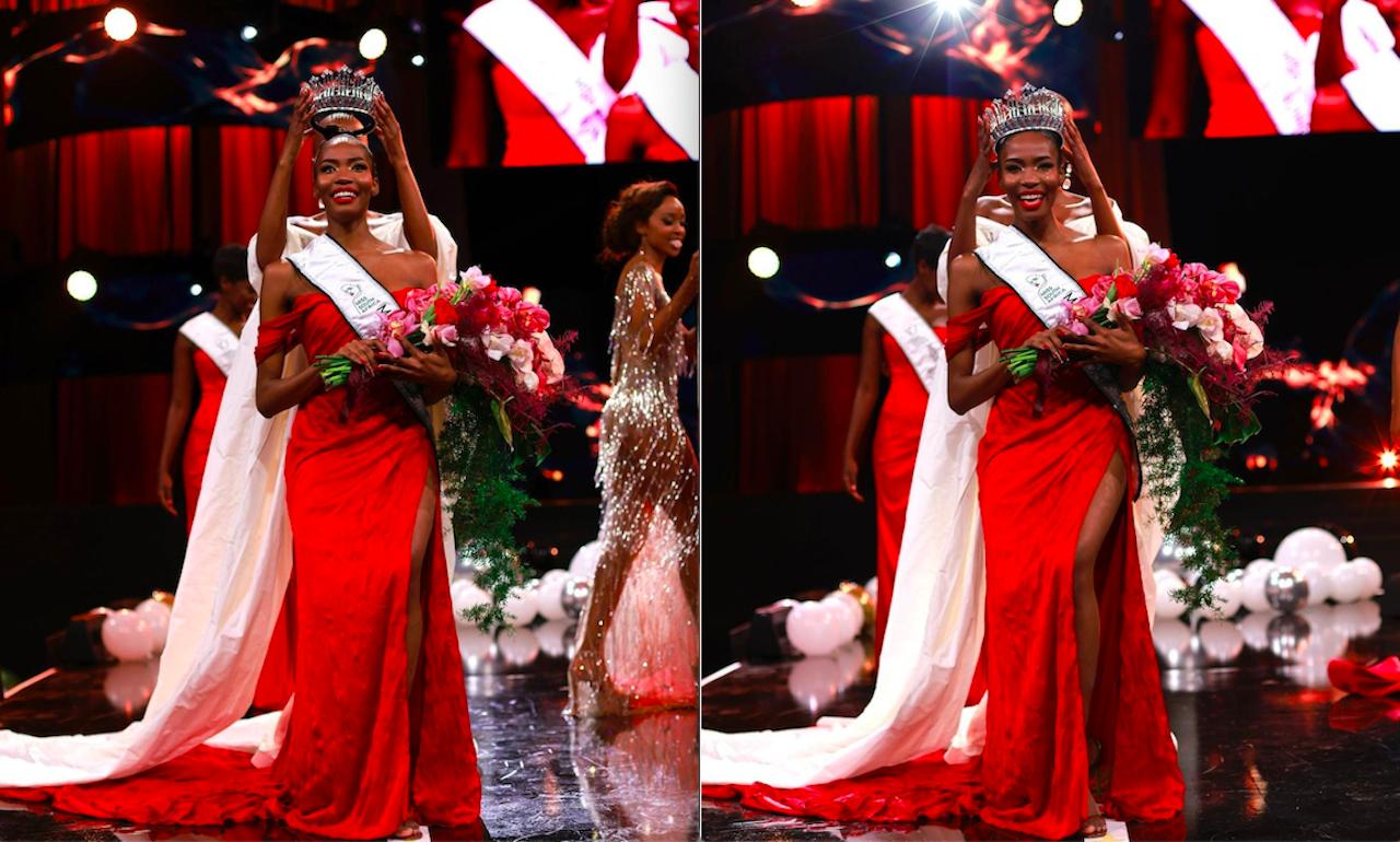 Nhan sắc đẹp lạ của vũ công, người mẫu vừa đăng quang Hoa hậu Nam Phi
