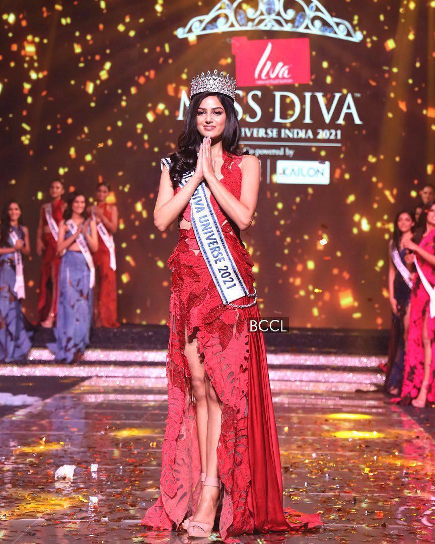 Diễn viên 21 tuổi đăng quang Hoa hậu Hoàn vũ Ấn Độ