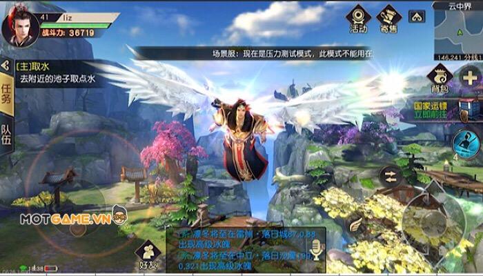 Viễn Chinh Mobile: game MMO tiên hiệp đồ hoạ đỉnh cao