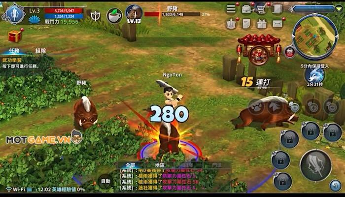 Real Yulgang Mobile: tái hiện tựa game PC tuổi thơ đình đám