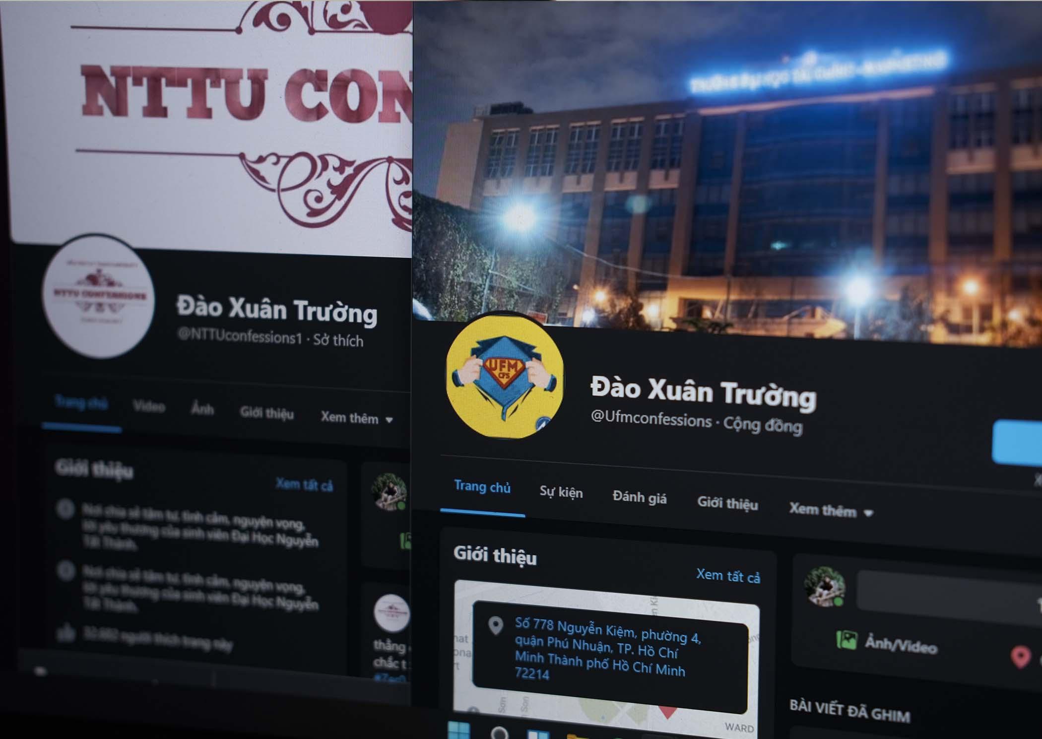 Hàng loạt fanpage trường đại học bị đổi tên thành 'Đào Xuân Trường'
