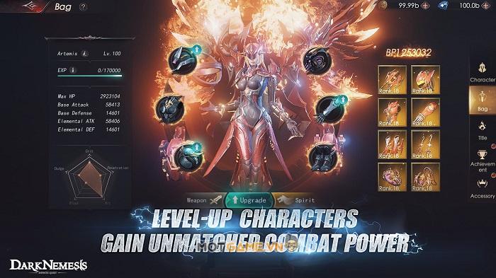 Dark Nemesis: Infinite Quest: Siêu phẩm nhập vai với đồ họa 3D đỉnh cao