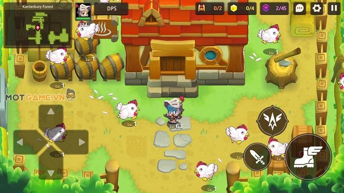 Guardian Tales: Tựa game phiêu lưu kết hợp giải đố mang đồ hoạ chibi ấn tượng