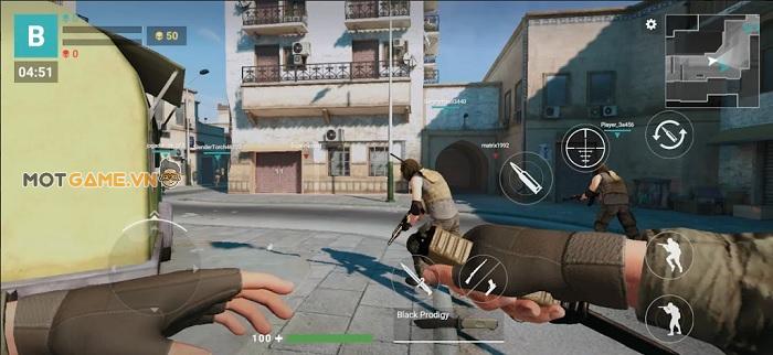 Modern Gun: Game bắn súng góc nhìn thứ nhất mang hơi thở của CSGO và Crossfire