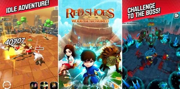 Red Shoes Wood Bear World: Game màn hình dọc với đồ hoạ hoạt hình 3D cực đẹp