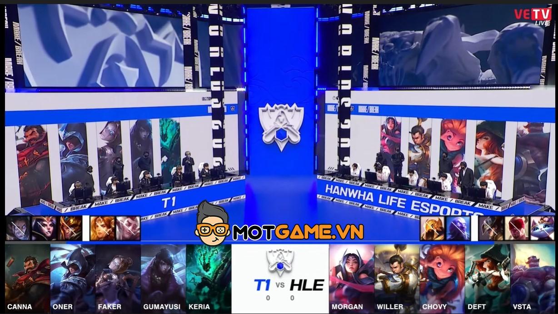 CKTG 2021: Tứ kết T1 – Hanwha Life Esports