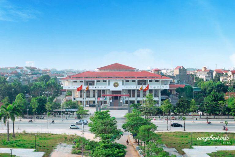Toàn cảnh bảo tàng Hùng Vương