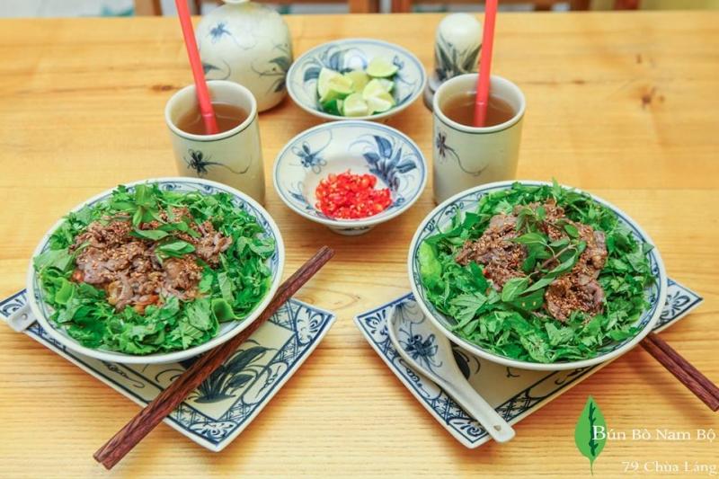 Top 9 Quán bún bò Nam Bộ ngon nhất ở Hà Nội